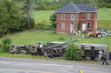 Hwy. 7 crash -- Aug. 15, 2014
